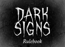 Dark Signs rulebook title