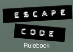 Escape Code rulebook title