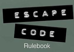 Escape Code rulebook title