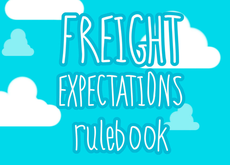Freight Expectations rulebook title