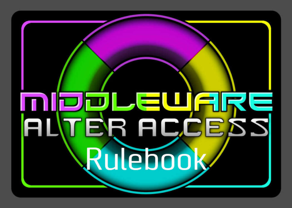 Middleware Alter Access rulebook title