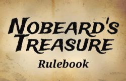 Nobeard's Treasure rulebook title