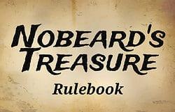 Nobeard's Treasure rulebook title