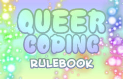Queer Coding rulebook title
