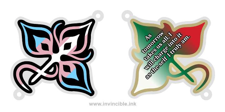 Preview of trans pride charm for the Naya shard