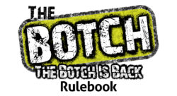 The Botch is Back rulebook title