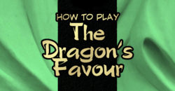 The Dragon's Favour rulebook title
