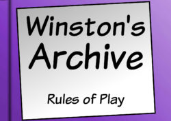 Winston's Archive rulebook title