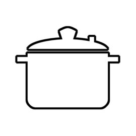 Yes Chef stock pot icon indicating a Rich dish