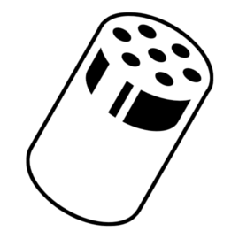 Yes Chef shaker icon indicating a Salty dish