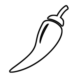 Yes Chef chili pepper icon indicating a Spicy dish