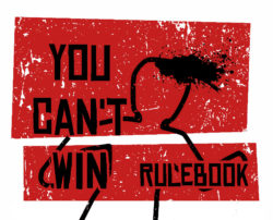 You Can't Win rulebook title
