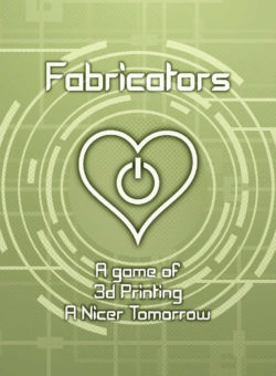 Fabricators card game poster