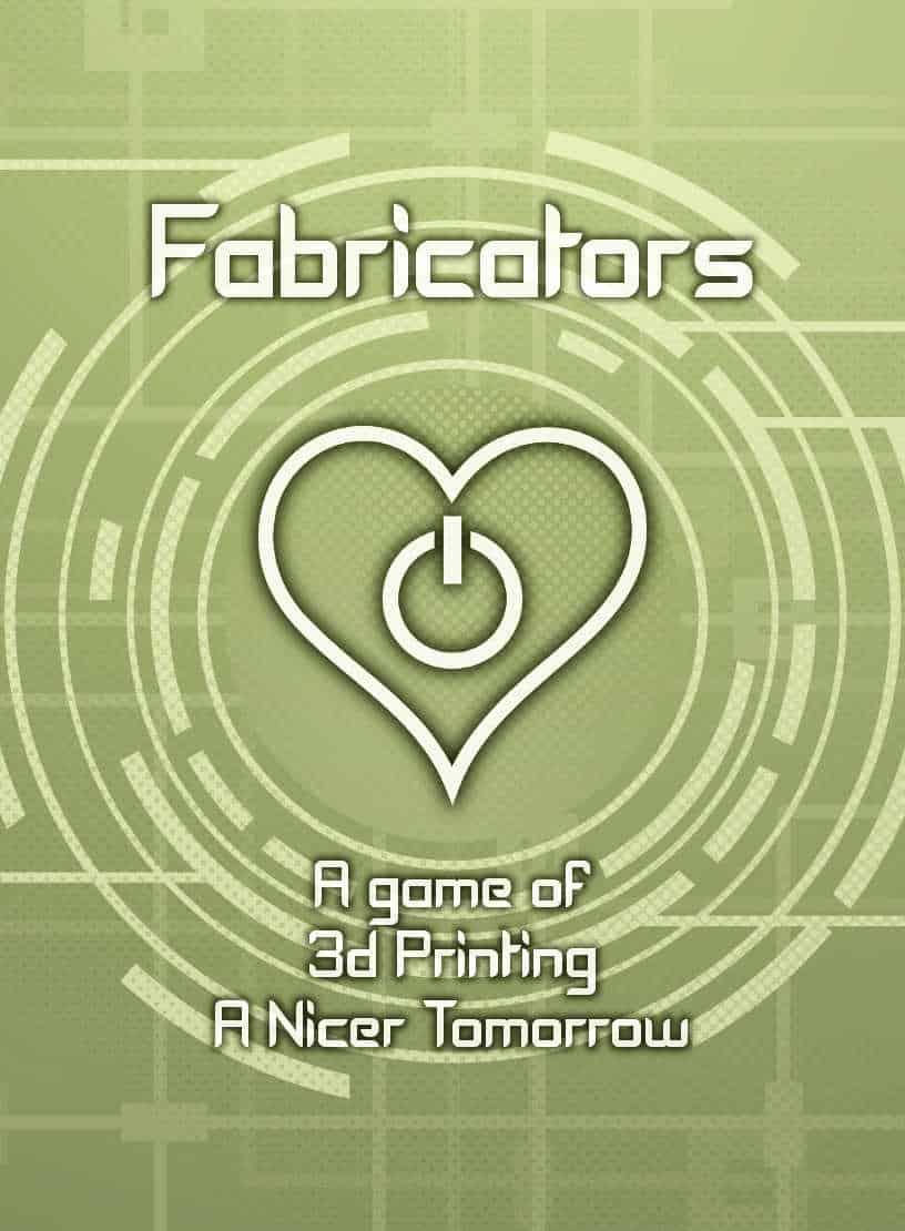 Fabricators card game poster