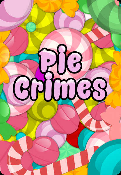 Pie Crimes card game title