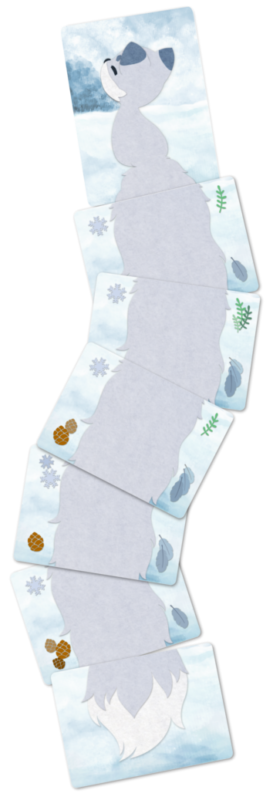 Foxtail cards in play - Winter